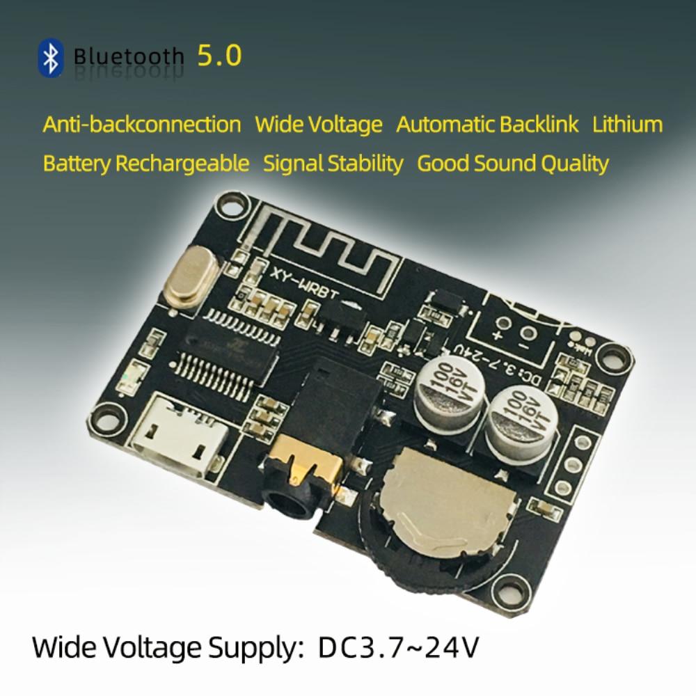 Bluetooth 5.0 Decoder Stereo Bluetooth Audio Module Wide Voltage Voltage Adjustable Speaker Power Amplifier