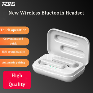 Image 2 - TATING Hifi Lady Wireless Headphones Charging Box Earphones Bluetooth 5.0 Mini 9D Girls Stereo Earbuds Headsets With Microphone