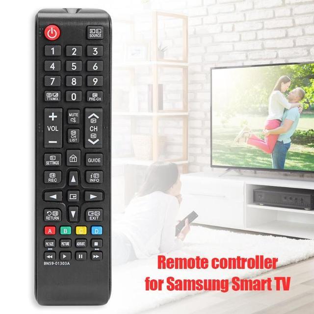 サムスンスマートテレビ用 BN59 01303A テレビリモコンユニバーサル交換用のリモート E43NU7170 UA43NU7090 、 UA50NU7090