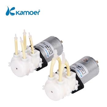 Pompa wodna Kamoer KPP2 z podwójną głowicą 12V DC mini perystaltyczna pompa wodna tanie i dobre opinie peristaltic pump electric Elektryczne Niskie ciśnienie Standardowy Pomiaru Pompy rotacyjnej Wody 12V 24V PharMed BPT Straight Plate L type
