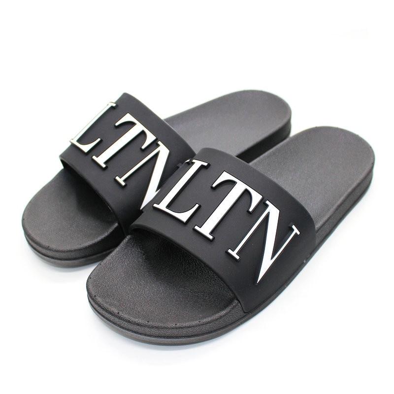 Summer Women's Sandals Bathroom Non-slip Home Flat Slippers Flip-flops Slide Cute Shoes Woman Shoes Beach Sandals Slippers 40
