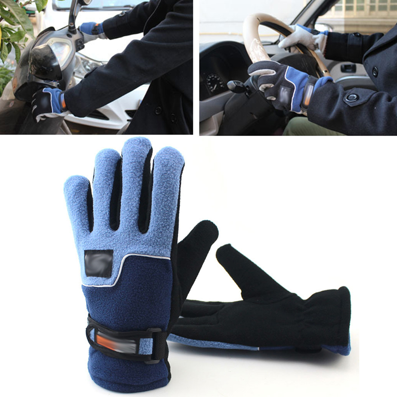 Wear-resisting Bike Sports Comfortable Warm Gloves Full Finger Gloves Cycling Snowboard Skiing Sports Warm Gloves Outdoor Glove
