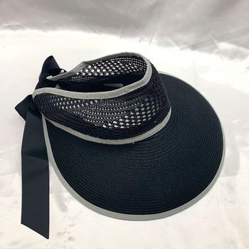 цены New Women Summer Visors Hat Foldable Sun Hat Wide Large Brim Beach Hats Femme Straw Hat Chapeau Free shipping