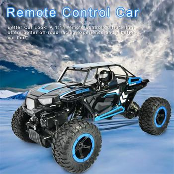 1:14 Remote Control Car Four-wheel Drive Climbing Off-road Vehicle Electric Car Toy All-terrain Off-road Vehicles Boys Gifts