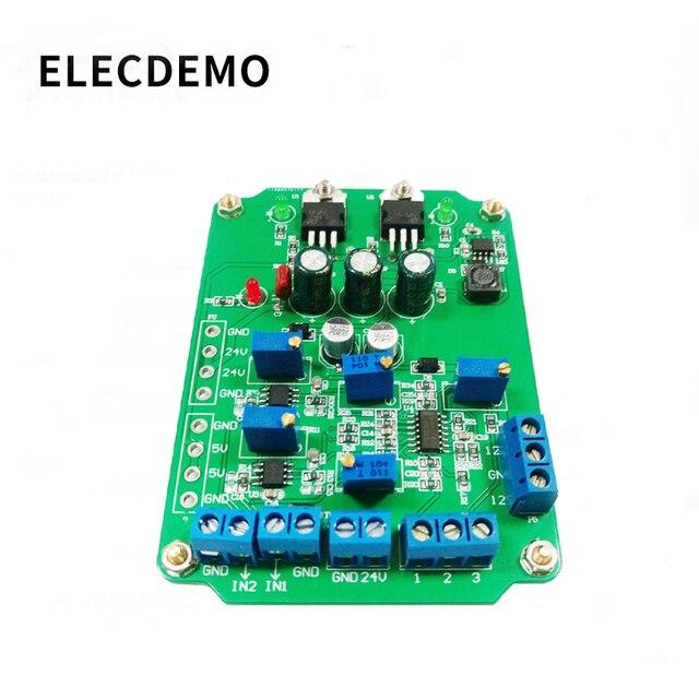 Ad620 모듈 고 이득 계측 증폭기 ad620 송신기 전압 증폭기 모듈 이중 차동 출력
