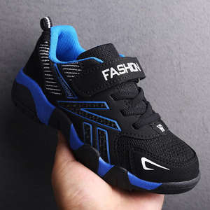 Image 3 - Kids Girls Sport Shoes Running Sneaker 2018 Spring Autumn Children Mesh Leather Outdoor Toddler Casual Sneakers Teenage Trainers