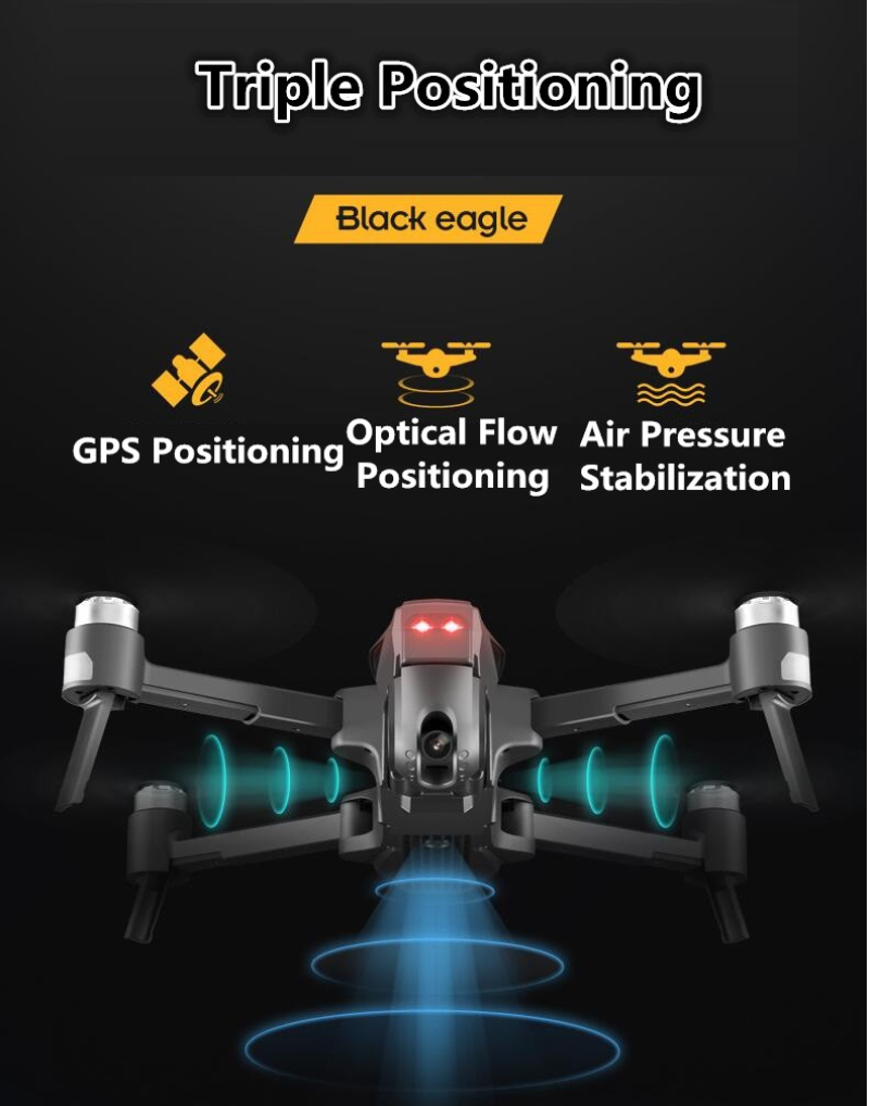 4K 5G Wifi FPV GPS RC Quadcopter Drone with HD Wide Angle Camera with 30Mins Flight Time 9