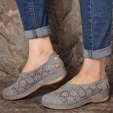 Women Sandals Plus Size Wedges Shoes For Women Retro Heels Sandals Summer Woman Shoes 2021 Chaussures Femme Platform Sandals
