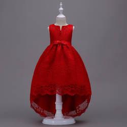 Международная торговля; Лидер продаж; сезон весна-осень; Новое Стильное детское платье без рукавов; платье принцессы; платье для свадьбы;