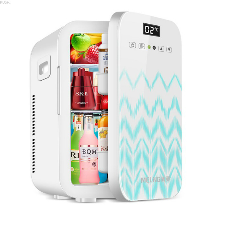 12V 220V 20L  Dual-core Mini Car Home  Refrigerator Refrigerators  Car Fridge  Mini Fridges Cold And Hot Box