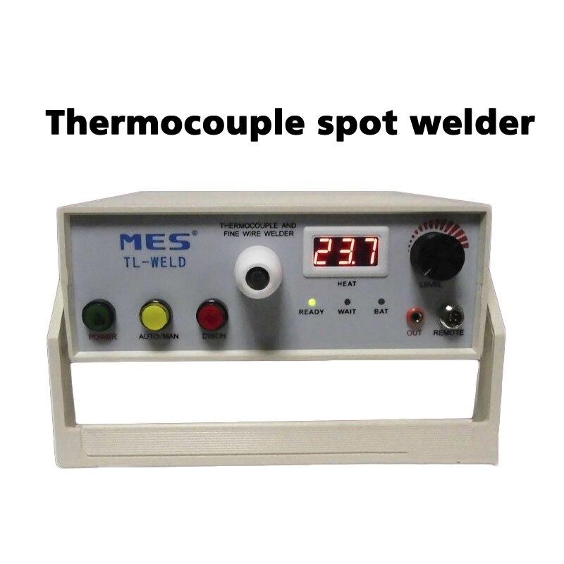 Термопара точечной сварки TL-WELD перезаряжаемая термопара машина для сварки проволоки с аргоновым контактом 90-265 в