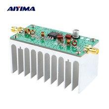AIYIMA 88 108MHZ 6W VHF מגבר כוח FM Amplificador 12V עבור FM משדר RF רדיו חזיר עם גוף קירור