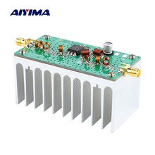 AIYIMA 88 108MHZ 6W VHF amplificatore di potenza FM amplificatore 12V per trasmettitore FM Radio RF Ham con dissipatore di calore