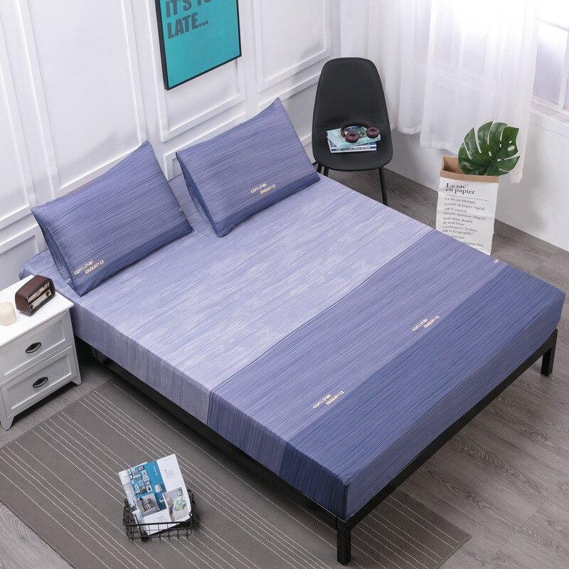 12 cores capa de colchão impermeável sólido macio equipado folha com elástico de alta qualidade colchão protetor capa ar-permeável