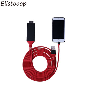 2020 HDTV 8 Pin to HDMI CableTV Digital AV Adapter USB HDMI 1080P Smart Converter Cable For Apple TV iPhone X For iPad(China)