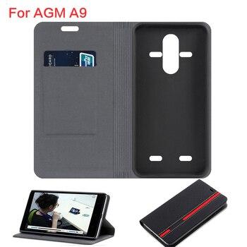 Перейти на Алиэкспресс и купить Чехол для телефона AGM A9 X2 X3 без магнита в ковбойском стиле из искусственной кожи для AGM A9 JBL H1, флип-чехол, деловой чехол, Мягкая силиконовая за...
