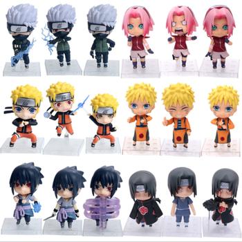 11cm Naruto figure Shippuden Haruno Sakura Naruto Jiraiya Gaara PVC Action Figure Model Model Toys doll