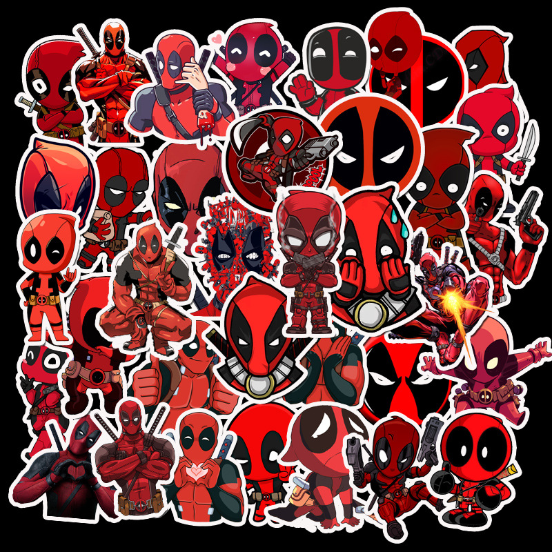 35-pcs-stickers-font-b-marvel-b-font-custom-stickers-papelaria-superhero-deadman-skateboard-graffiti-stationery-sticker-waterproof-tz055g