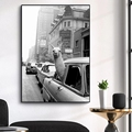 Alpaca In A New York City Taxi Nordic Canvas Painting Animal Poster and Print Wall Art Pictures for Living Room Decor Cuadros