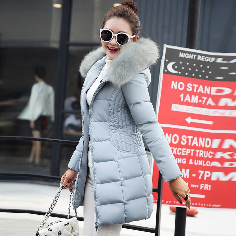 Solid ฤดูหนาวขนสัตว์ Hooded ลงเสื้อผู้หญิงแฟชั่นหลวมเสื้อแจ็คเก็ตผ้าฝ้ายอุ่นหญิงเกาหลี PLUS ขนาด Parka Outwears