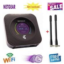 Разблокированный мобильный роутер Netgear Nighthawk M1 4GX Gigabit LTE 1000 Мбит/с WiFi точка доступа MR1100+ 2 шт антенны