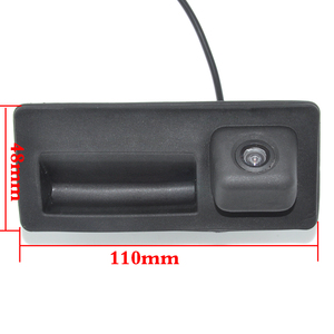 Image 3 - CCD Waterproof Car Runk Handle Parking Rearview Backup camera Case For Audi/VW/Passat/Tiguan/Golf/Touran/Jetta/Sharan/Touareg