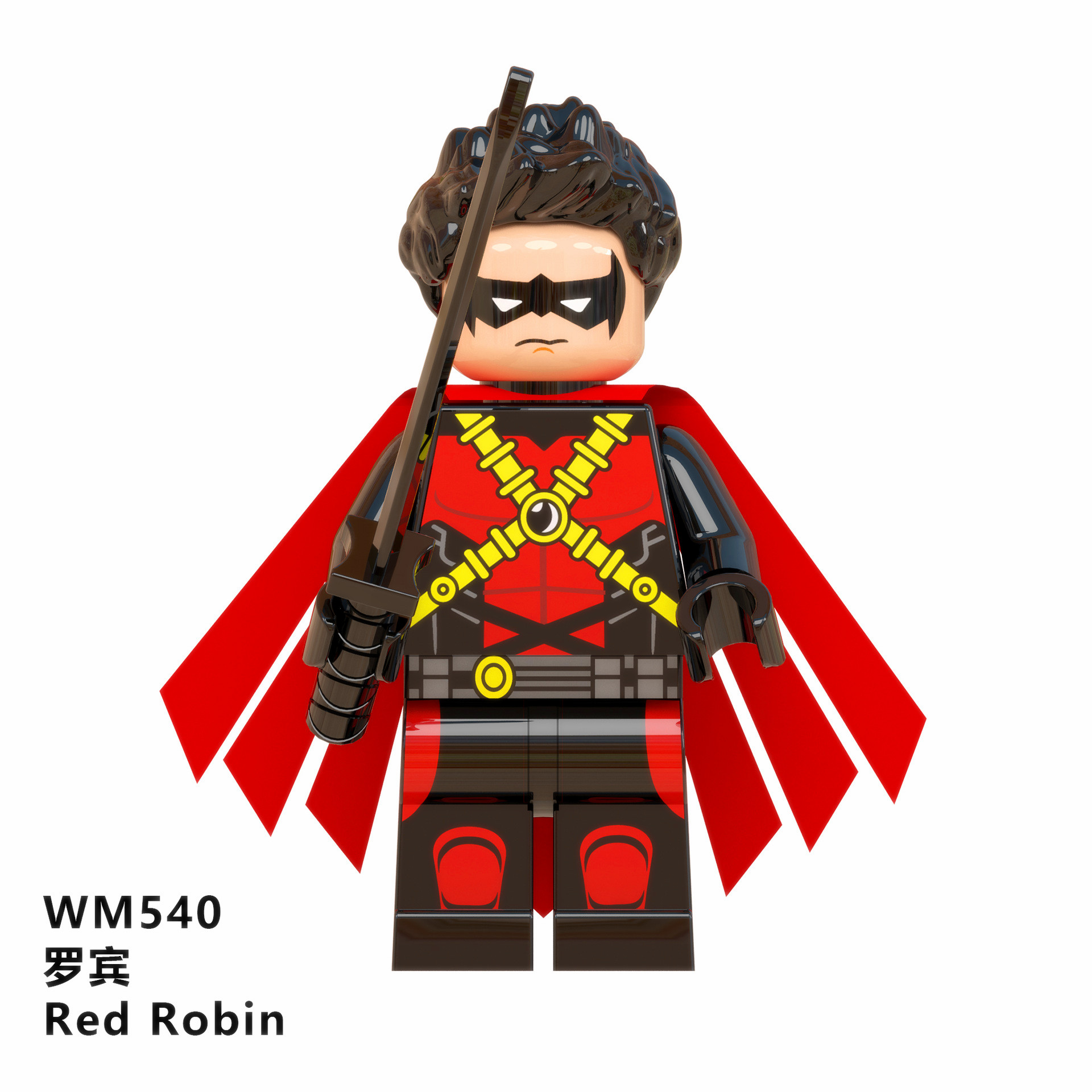 Super Heros The Question Martian Manhunter Eradicator Red Son Batman Knightmare Batman Red Robin Wild Dog Blocks Toys