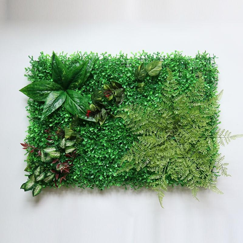Home Decoration Artificial Plant Lawn Grass Fake Decorative Wall Plant Garden Outdoor Interior Decoration