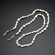 Cadena para gafas de lectura, cadena para gafas de sol de conchas de moda, soporte de cordón, correa para el cuello, collar, cordón 2020