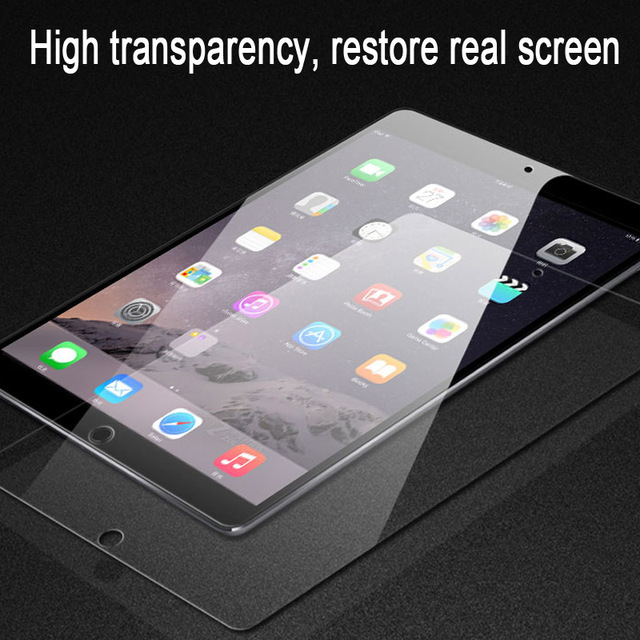 9H Tempered Glass For iPad 10.2 inch 2019 2.5D Full Cover Screen Protector For iPad Pro 11 Air 2 3 MiNi 5 4 3 2 2017 2018 Glass 5