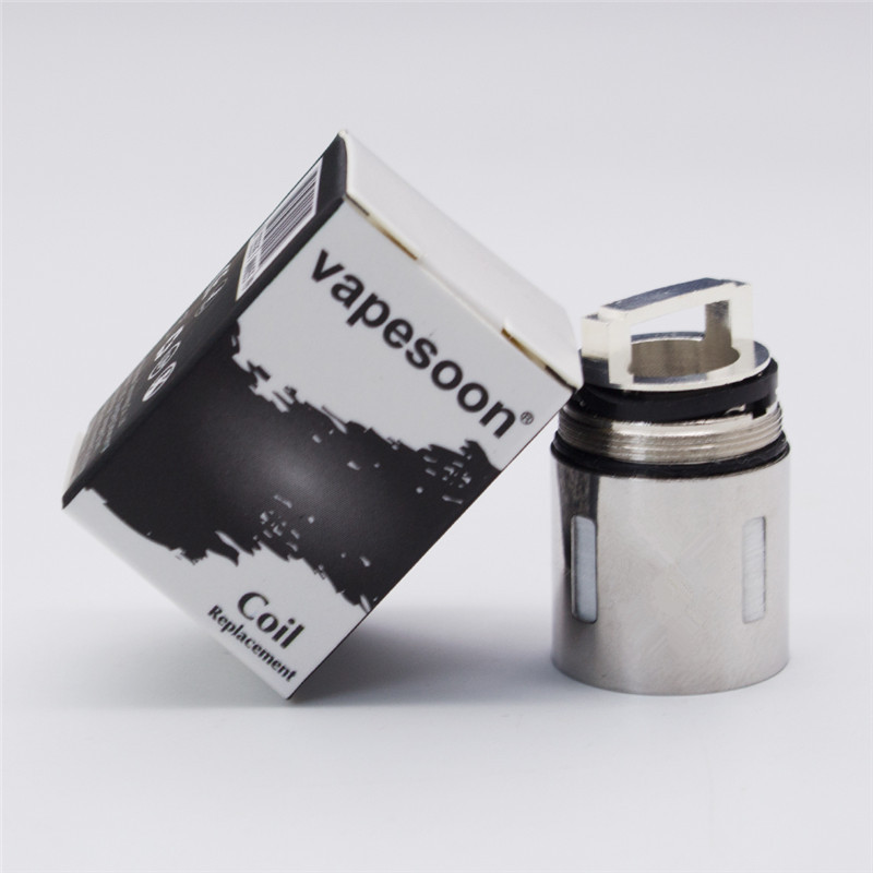 3pcs V8 Q4 T6 T8 T10 Replacement Coil Head V8-Q4/T6/T8/T10 Atomizer Core 0.12ohm 0.15ohm 0.2ohm For SMOK TFV8 Cloud Beast Tank