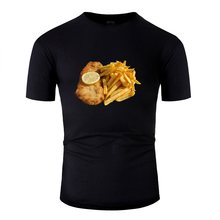 Vintage Schnitzel Mannen T-shirt Comic Big Size 3xl 4xl 5xl Katoenen T Shirts Hiphop Top(China)