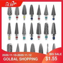 Hardmetalen Frees Bramen Nail Boren Machine Nail Cutter Nail File Manicure Voor Machine Nail Art Accessoires