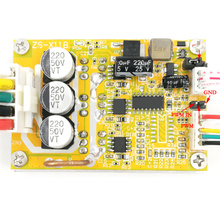 350W 5-36V BLDC Three-Phase DC Brushless With Hall Motor Signal Input Controller Sensorless Brushless Motor Durable VR Speed