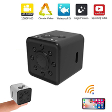 лучшая цена Mini WIFI Camera SQ13 FULL HD 1080P Night Vision Waterproof Shell CMOS Sensor Recorder Camcorder For Home Office Dropshipping