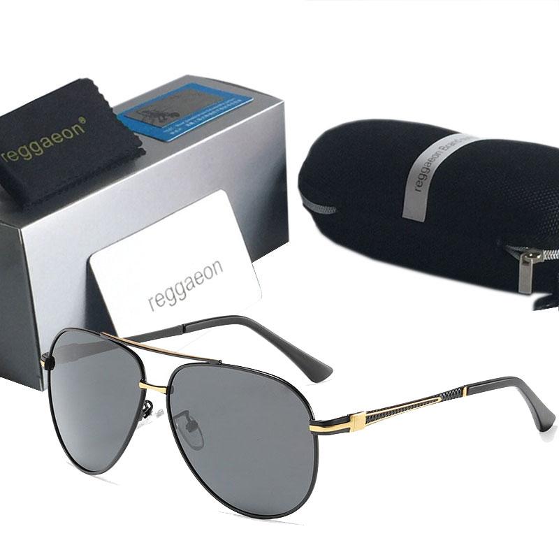 Luxury Polarized Sunglasses Men High Quality UV400 Women Driving Glasses Brand Designer Pilot Sunglasses Metal Vintage Gafas