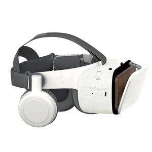 Image 2 - Mới Nhất Bobo Vr Z6 VR Kính Không Dây Bluetooth VR Kính Android IOS Từ Xa VR Thực Tế 3D Tông Kính 4.7  6.2 Inch