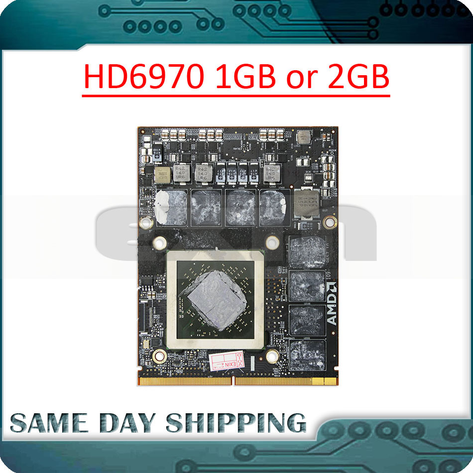 """NEW 661-5969 661-5968 Video Card AMD HD 6970M 1GB For iMac 27/"""" Mid 2011 A1312"""