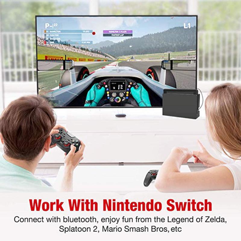 Wireless Gamepad Nintendo Switch Gamepad With Adjustable Turbo Switch Bluetooth Controller Sensitive Joystick Gamepad