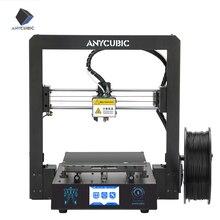 طابعة ANYCUBIC Mega S ثلاثية الأبعاد impressora الطارد شاشات تعمل باللمس TFT Ultrabase ضخمة بناء حجم PLA سطح المكتب impresora ثلاثية الأبعاد Drucker