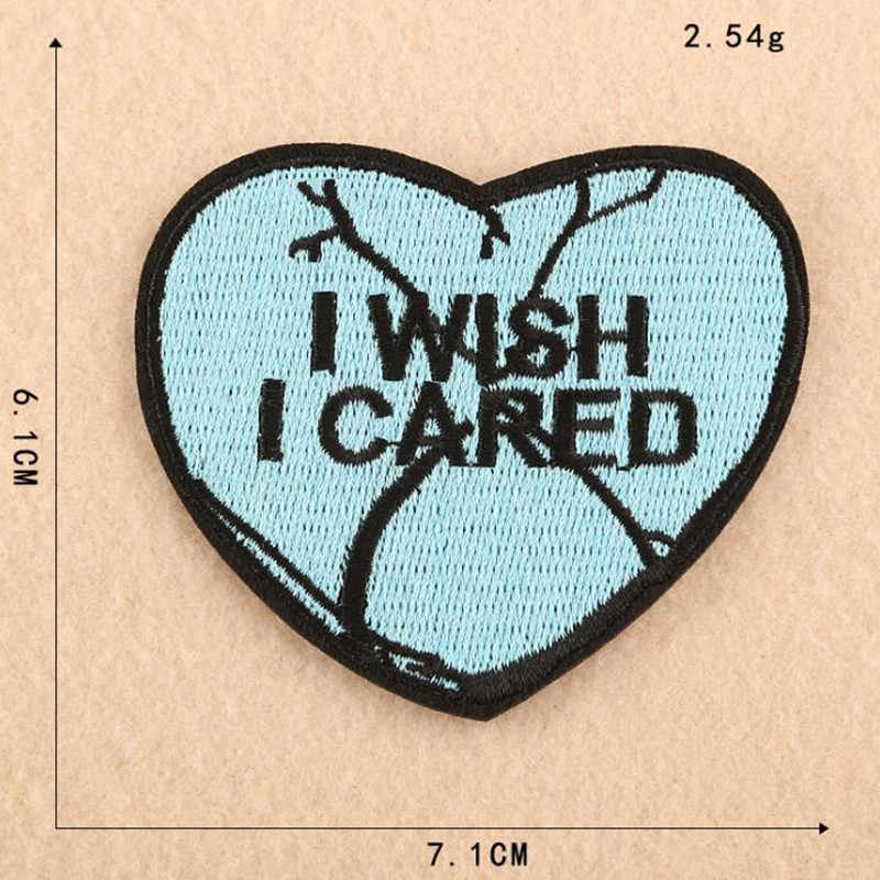 Color Badge Patch Embroidered Patches For Clothing Iron On For Close Shoes Bags Badges Embroidery DIY