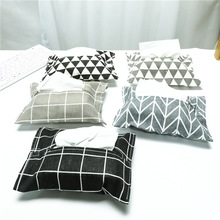Japanese-Style Fabric Cotton and Linen Removable Tissue Box Car Paper Extraction Toilet Bag Creative