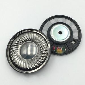 50mm subwoofer monitor fone de ouvido alto-falante unidade 16ohm fone de ouvido alta fidelidade motorista peças reparo graves profundos filme titânio mais novo 2pc