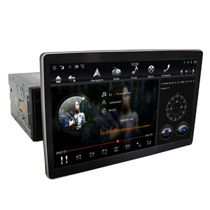 """Image 3 - 12.8"""" Rotation IPS screen PX6 Tesla Style android 9.0 double 2 din car universal gps dsp multimedia radio No DVD player wifi usb"""