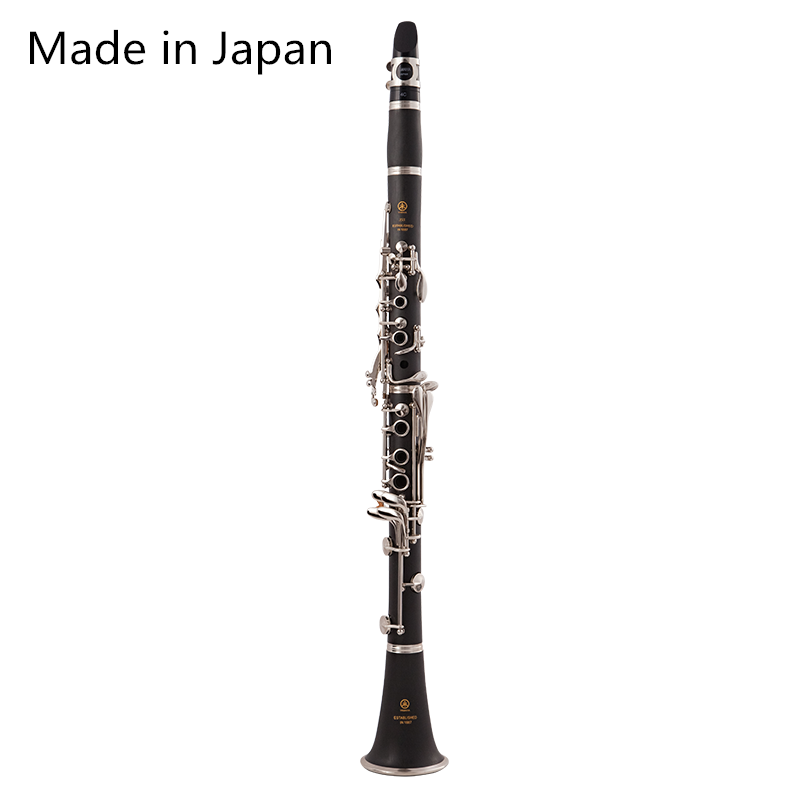 Made In Japan Clarinet 17 Key Falling Tune B /bakelite Pipe Body Material Clarinet  Woodwind Instrument