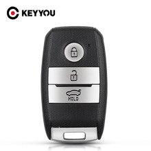 KEYYOU para Kia 3 Ceed Rio 2014 R K2 K3 K4 K5 Sorento Cerato Optima QL R 2015-2018 control remoto cubierta inteligente para llave de coche caso