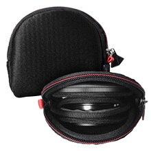 Besegad étui de transport Portable sacs multi fonction caméra lentille filtres pochette pour rond carré filtres sac de rangement accessoires