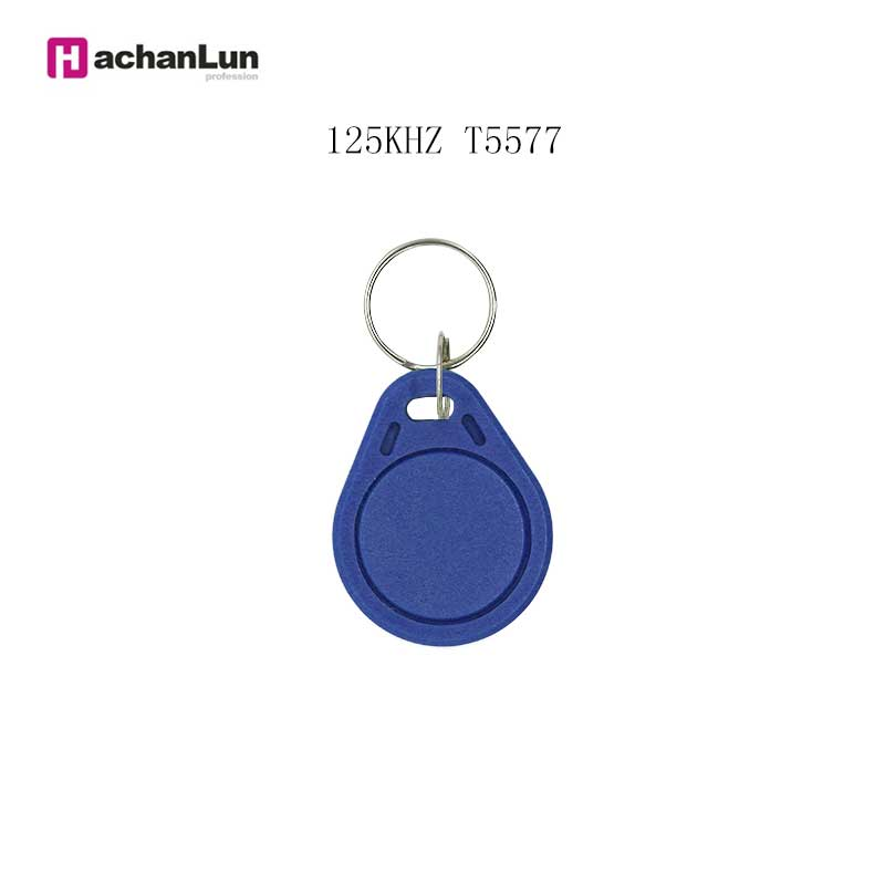 10/50/100PCS Random Color RFID 125 KHz Access Control Card Induction Tag Keychain T5577 EM4305 Can Copy And Rewrite Keychain