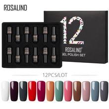 ROSALIND набор гель-лаков для ногтей 7 мл однотонный Набор для маникюра Лак для ногтей Vernis Полупостоянный набор гель-лаков для ногтей Топ и основ...