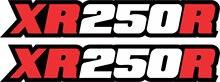 Xr250R Đề Can Đồ Họa Tay Xoay Dán MX Dirtbike Xr250 Xr 250 250r Dán Cho Xe Ô Tô, Motos, Laptop Ngành Công Nghiệp